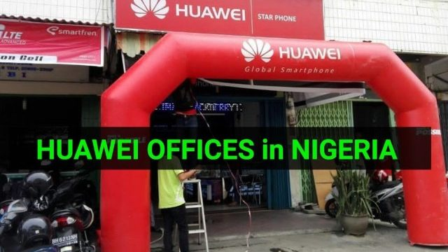 Huawei Offices in Nigeria: Where to Repair Your Huawei Phones