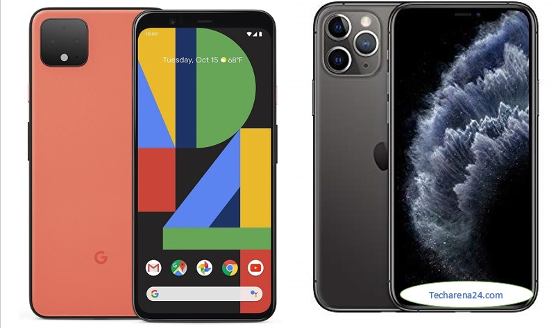 Google Pixel 4 XL vs iPhone 11 PRO Max