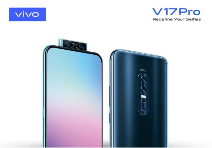 Vivo V17 Pro arrives Nigeria with Dual Pop-up Selfie Camera (8GB + 128GB ROM)