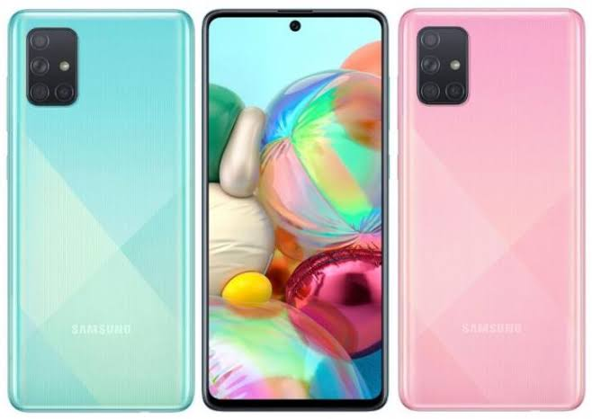 Samsung Galaxy A71 Price In Nigeria And Specification