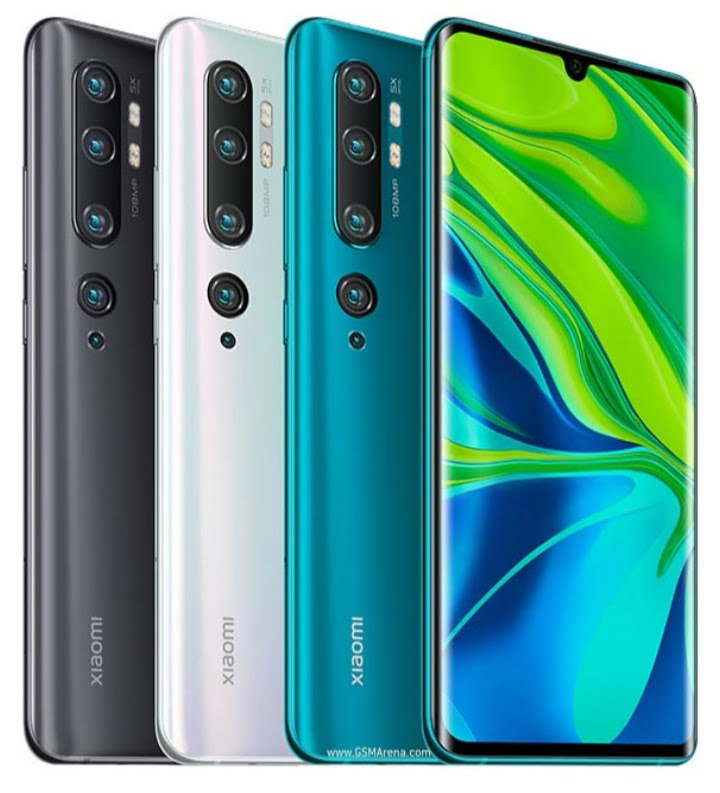 Xiaomi Mi Note 10 Price In Nigeria and Specifications
