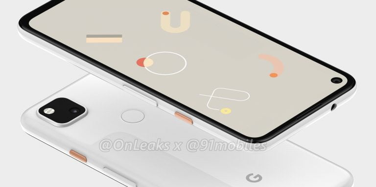 Google Pixel 4a To Have Punch Hole Display and Single Camera