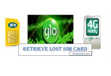 Retrieve Lost SIM Card