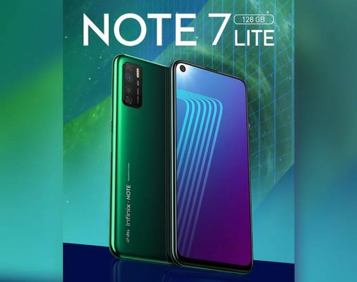 Infinix Note 7 Lite Price In Nigeria and Specs