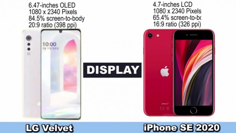 LG Velvet vs iPhone SE 2020: Read This Before You Buy