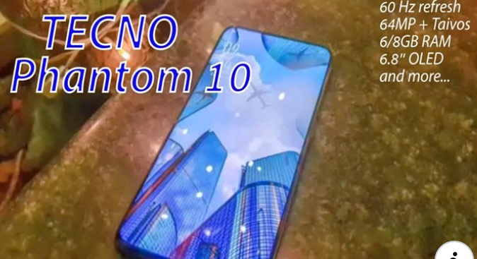 Tecno Phantom 10 Complete Specifications