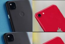 Google Pixel 4a vs iPhone SE 2020