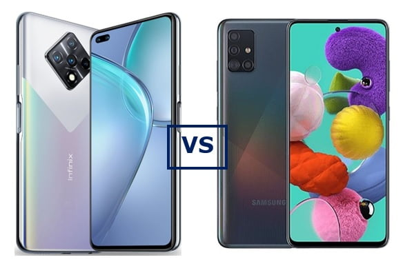 Infinix Zero 8 vs Galaxy A51: Which is better