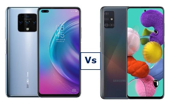 Camon 16 Premier vs Galaxy A51: Which is Better?