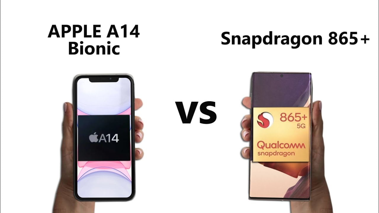 Apple A14 Bionic vs Snapdragon 865+