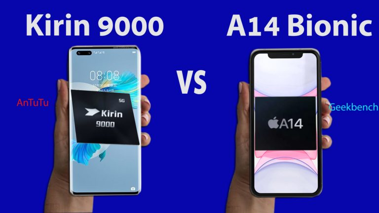 Kirin 9000 vs Apple A14 Bionic: Chipset Comparison