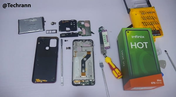 Infinix Hot 10 Teardown