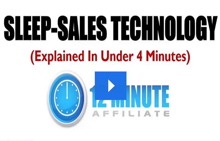 Sleep Sales Technology: The Perfect Affiliate Marketing Program