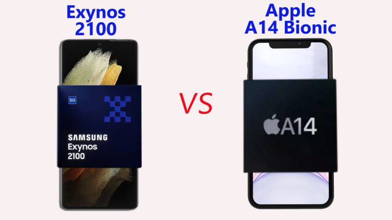 Exynos 2100 vs A14 Bionic: Chipset Comparison