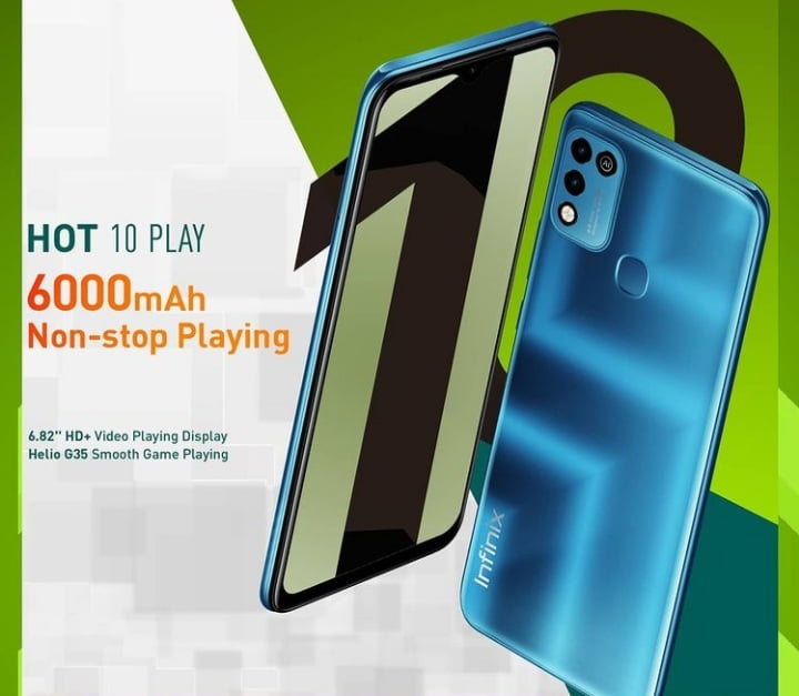 Infinix Hot 10 Play Specifications: 2GB, 6000mAh & more