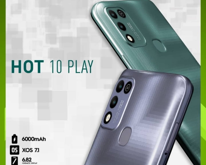 Infinix Hot 10 Play Price in Nigeria and Specs