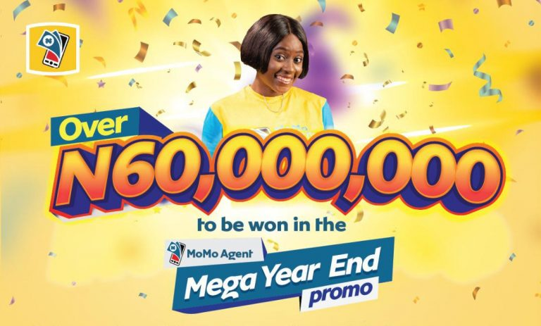 Over 60 Million Naira to be won in MTN MoMo Agent Mega Year End Promo