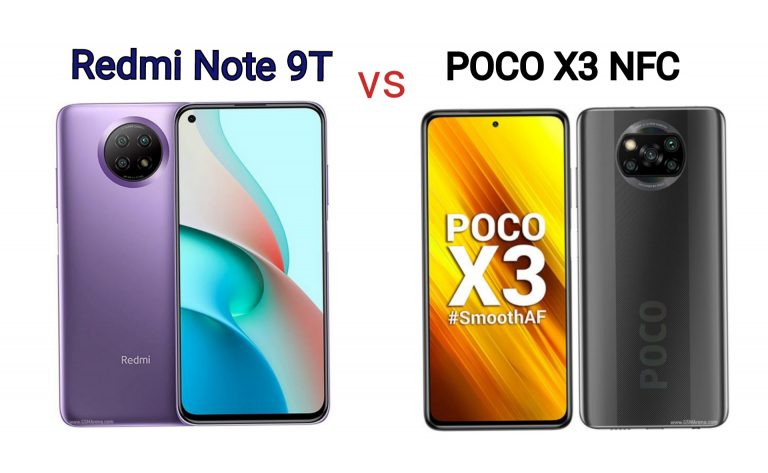Redmi Note 9T vs POCO X3 NFC: Which is Better?