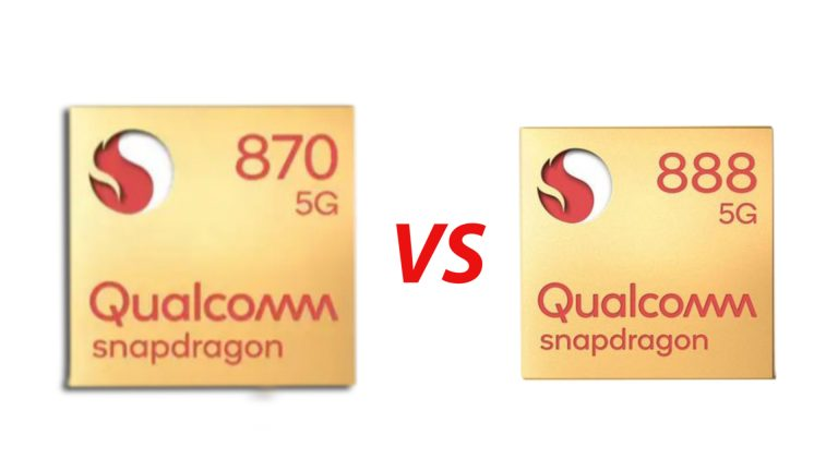 Snapdragon 870 vs Snapdragon 888: Full Comparison