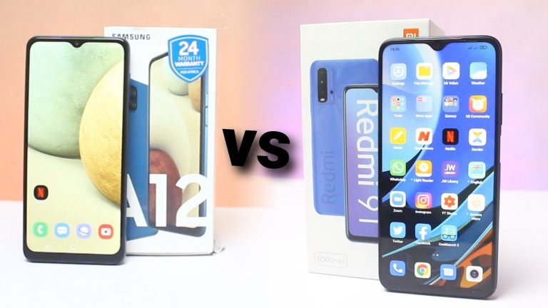 Samsung Galaxy A12 vs Redmi 9T: Which is Better?
