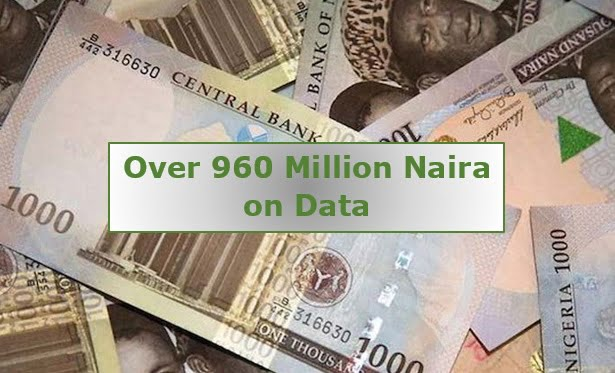 Nigerians Now Spends Over 960 Million Naira to Purchase Data