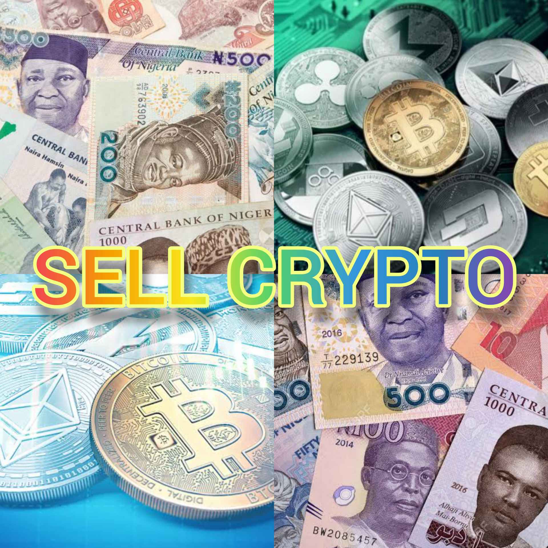 Sell Crypto in Nigeria