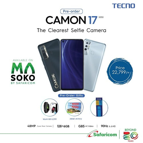 Tecno Camon 17 Price