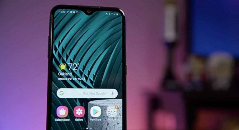 Samsung Starts Rolling Out Android 11 for Galaxy A01