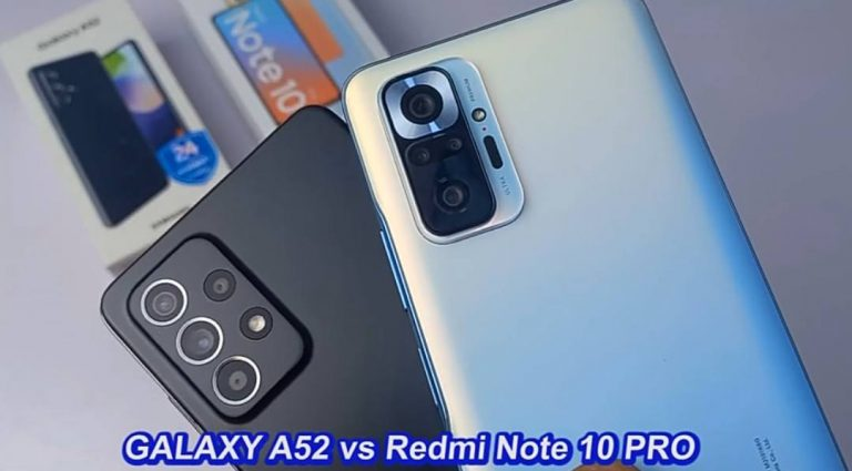 Video: Our comparison of Galaxy A52 Vs Redmi Note 10 Pro is Out