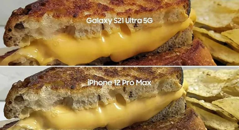 Samsung new TV commercial make iPhone Cameras appears bad