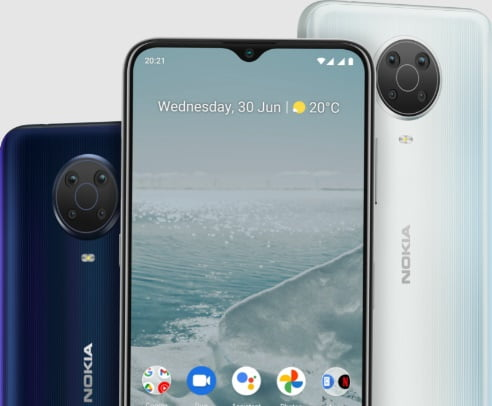 HMD Global to launch Nokia G20 in the U.S. with small price tag