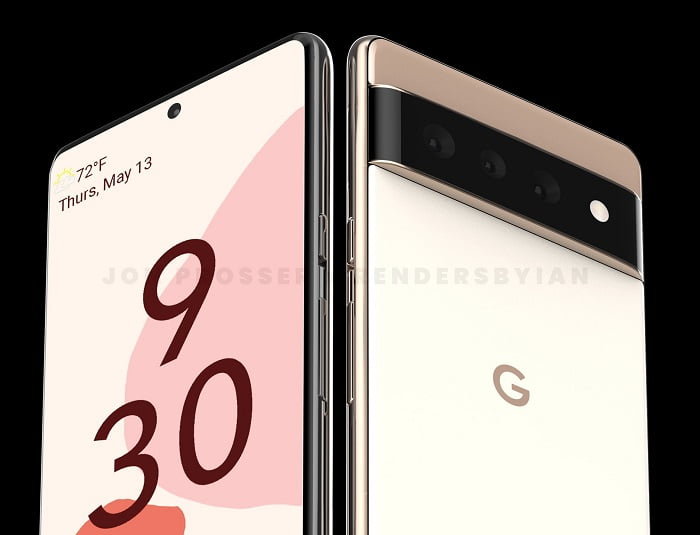 Photos of Google Pixel 6 and 6 Pro