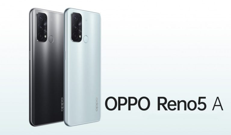 Oppo Launches Reno5 A with 90Hz, Snapdragon 765G Chip and IP68