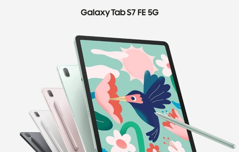 Samsung Galaxy Tab S7 FE 5G unveiled for £590 (~€650)