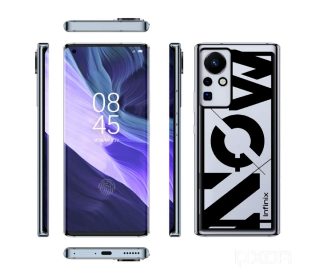 Infinix Phone with Curved display