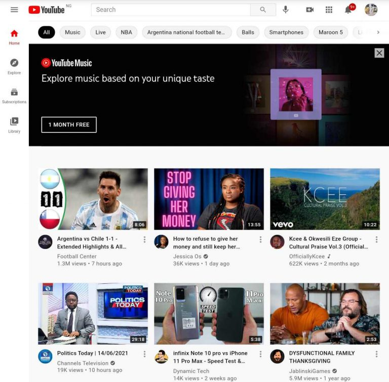 YouTube is removing Gambling, Alcohol, and Politics from its Masthead Ads Slot
