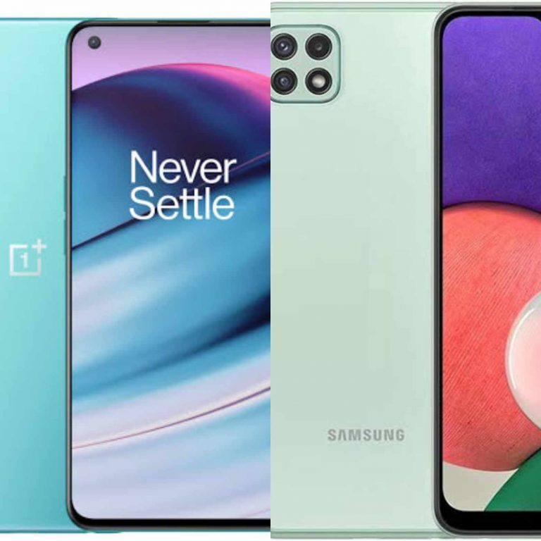 OnePlus Nord CE 5G Vs Samsung Galaxy A22 5G: Which should you buy