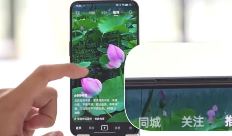 New hands-on video shows OPPO's under-display camera