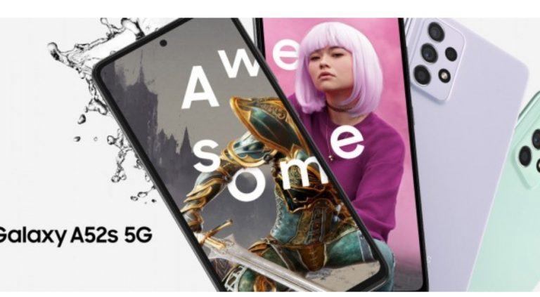 Samsung Galaxy A52s 5G debuts for £410 in the UK