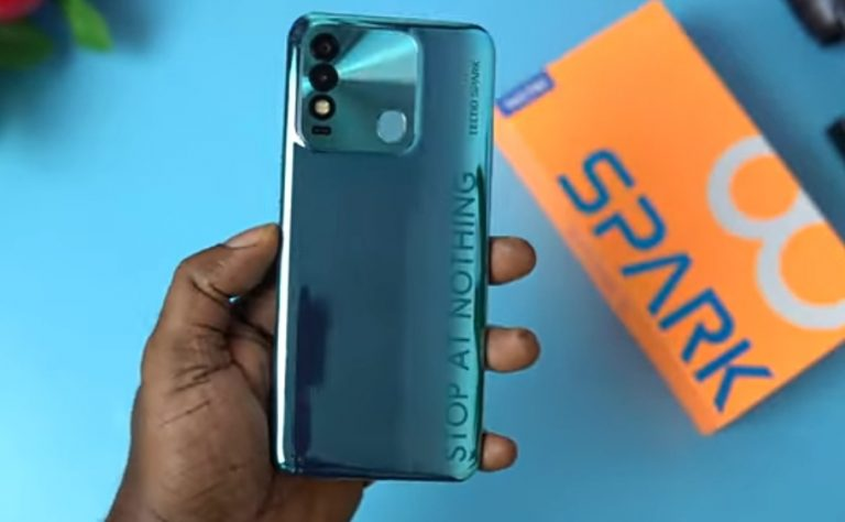 Tecno Spark 8 Price in Nigeria for ₦55,000 with 5,000 mAh battery