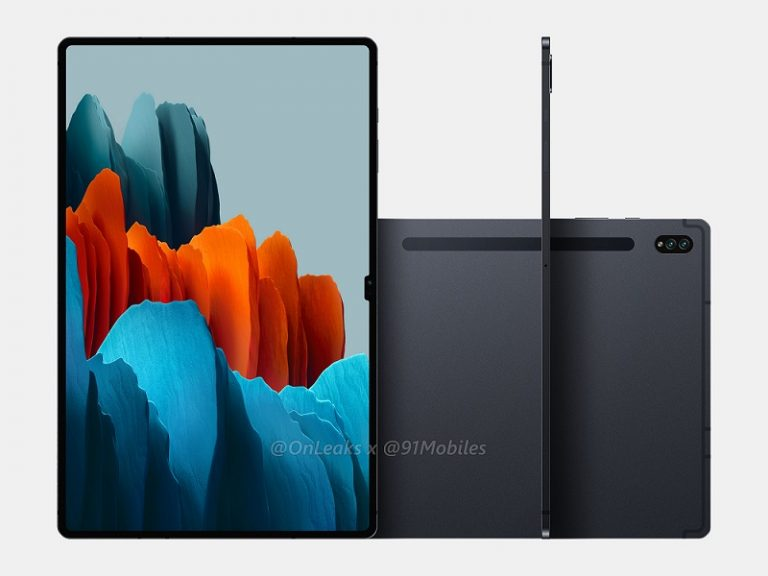 Galaxy Tab S8 Ultra design revealed in new renders along with its specs