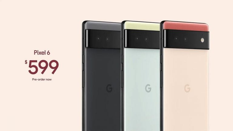 Pixel 6 starts at $599 with better camera, Android 12 and new Tensor Chip