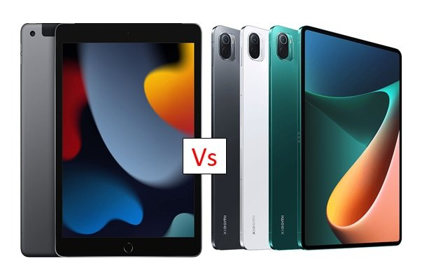Apple iPad 10.2 (2021) vs Xiaomi Pad 5: Which is better